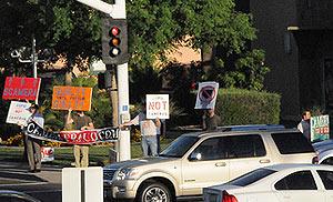 Protest Photo, 9/18/08