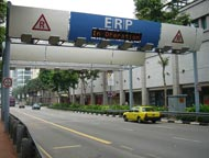 Singapore Toll Gate