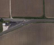Wahl Road and State Route 6, Google Map image