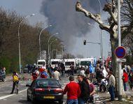 Riots in Strasbourg. Photos de Daniel/flickr