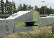 Swiss guardrail speed camera