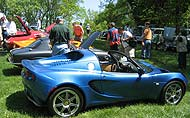 Lotus enthusiast gathering