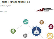 Texas Transportation Poll cover