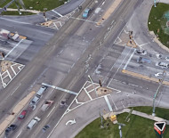 Intersection from Google Maps