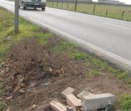 Valeggio, Italy speed camera grabbed