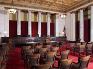 West Virginia Supreme Court chamber